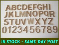 Wooden MDF LETTERS 9mm Thick Wall Mounted Crafts Plaque Sign Making 100mm tall