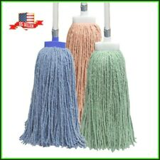 U-Clean Commercial Mops Easy Change Screw-On Janitorial Mop Heads or Handles