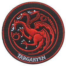 Game of Thrones House Targaryen Army Tactical Morale Badge Hook Loop Ops Patch