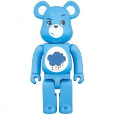 Medicom Toy Bearbrick BE@RBRICK 400% 280mm Care Bears Grumpy Bear blue 2017 NEW