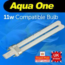 Aqua One 11w 2pin lightbulb AquaStart 320/40/500 AquaStyle 380/510 AquaMode 600