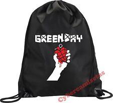 MOCHILA BOLSA SACO GREEN DAY MODELO 3 NEGRA VARIOS COLORES BLACK BACKPACK BAG