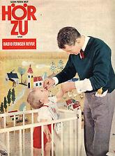 HörZu  Heft 35 von 1961, Blick in die Welt, Fernsehprogramm, Mecki-Seite, Hüte