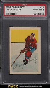1952 Parkhurst Doug Harvey #14 PSA 8 NM-MT