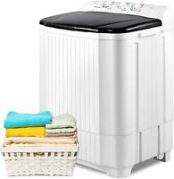 Portable Washing Machine, 21.2lbs Compact Twin Tub Wash&Spin Combo for Apartment