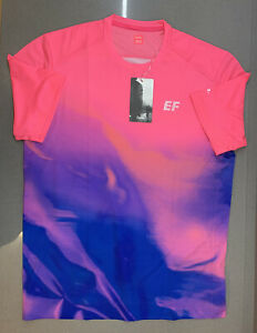Rapha EF Education First Technical T-Shirt High-Vis Pink Medium New With Tag
