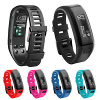 New Replacement Soft Silicone Bracelet Strap WristBand For Garmin Vivosmart HR