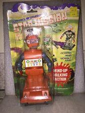 Vintage Rare Star Mission Robot Wind Up Durham's Sidewinders New On Card 1978
