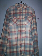 River Island Men's Cotton Long Sleeve Collared Casual Shirts & Tops