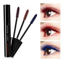 Waterproof Colorful Mascara Long Lasting Eye Lash Curling Makeup Cosplay U4G9