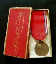 WW1 Original French Medal for the battle of Verdun 1916 bronze in genuine box