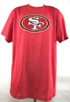 San Francisco 49ers Dwight Clark 87 Faded Vintage Red Short Sleeve T-Shirt