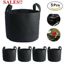 More details for 60pcs fabric planting grow bag garden flower vegetable tomato potato planter pot