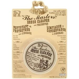 The Masters Brush Cleaner and Preserver 2.5 oz / 70.75g