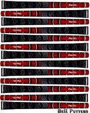 Thirteen (13) Avon Pro D2x Half Cord Standard Red/Black Golf Grips-Mens Grip