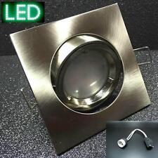 Einbauspot KW50 LED 3W GU10 230V eisen Einbaustrahler