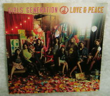 Girls' Generation LOVE & PEACE 2013 Japan Promo Sticker