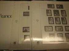 Safe Dual Frankreich 1986-1988 Vordruckblätter wie neu (444)