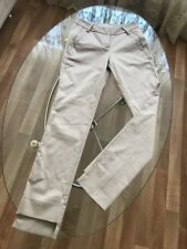 Marithe Francois Girbaud 🧡 Hose beige gr. S 34 36 38 Baumwolle neu ohne Etikett