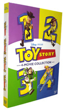 Toy Story 1-4 ( Dvd 6 Disc Set, 2019 ) 4 Movie Collection New & Sealed