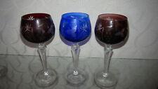 3 Römer Gläser farbig, Sammlerstücke
