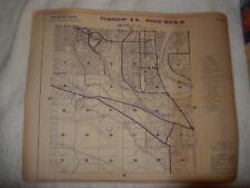 1960 Benton County Richland Washington Columbia River Township  Metsker Map