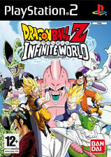 Ps2 Dragon Ball Z Infinite World Dragonball Adventure PAL English UK Version
