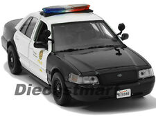 2010 FORD CROWN VICTORIA LAPD LOS ANGELES POLICE DEPARTMENT 1:24 MOTORMAX 76946