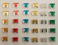 30 pcs Assorted  Low Profile Micro Mini Blade Fuse Set 5A 10A 15A 20A 25A 30A