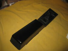 DATSUN 280ZX FLOOR CONSOLE 5 SPD SHIFT PLATE,BOOT ARM REST BLACK COLR 1979-1983