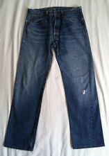 Levis Vintage LVC1954 501XX selvedge blue denim Men's jean's SZ33X31 ACTUAL