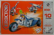 Erector Design 3 10 Models 287 Parts 2008 Meccnao Mip