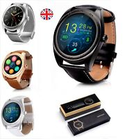 New 2018 Boxed Bluetooth Smart Watch Phone Wrist Watch Android and iOS UK Stock