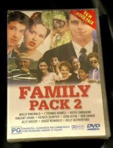 Family Pack 2 (DVD : 4 Disc DVD Set) Brand New Sealed in Plastic Region 4