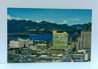 Vancouver British Columbia Canada Birds Eye View Postcard