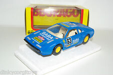BBURAGO BURAGO 9148 FERRARI 308 GTB RALLY MINT BOXED RARE SELTEN RARO!!