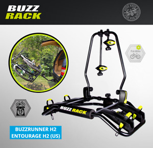 Buzz Rack 2 Bike Car Carrier Platform Hitch Rack Bicycle BuzzRunner H2 Entourage
