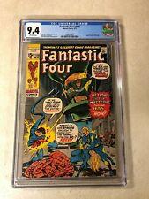 Fantastic Four #108 CGC 9.4 NM KIRBY THING Human Torch ANNIHILUS Nega Man 1971