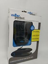 Collar Perfect Compact Touch-Up (& Traditional) Travel Iron | BRAND NEW