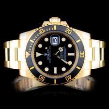 Rolex 18K YG Submariner Men's Watch Lot 39