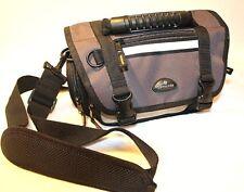 Samsonite Padded Photo Camera Bag w/Strap multi-compartment Black Gray AS.1.8