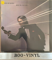 Chris De Burgh - Man On The Line - Vinyl LP Album + Inner A&M Records AMLX 65002