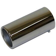 Qualità dei gas di scarico LUCIDO Tail Pipe Chrome finitura punta fine 40mm-52mm