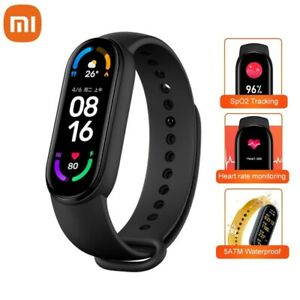 Xiaomi Mi Band 6 AMOLED Smart Watch Fitness Traker Waterproof Heart Rate Monitor