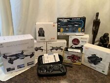 Lot of 9 Untested Stunt Drones As Is Open Box/ Returns