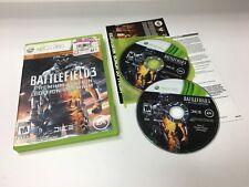 Battlefield 3 Premium Edition Xbox 360 Microsoft COMPLETE