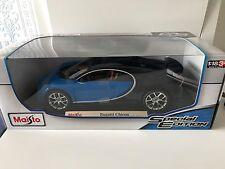 Bugatti Chiron Maisto 1:18 Modello Pressofuso Auto