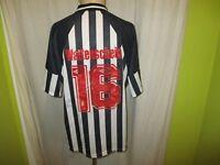 "SG Wattenscheid 09 umbro Heim Trikot 1996/97 ""STONES"" + Nr.16 + Signiert Gr.XL"