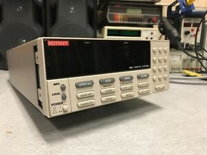 Keithley 7001 Switch System Used Tested Ships Free