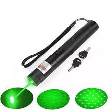 More details for 50 miles green laser pen military grade  1mw variable focus dot & pattern